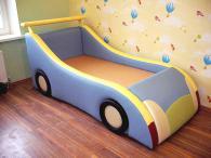 Тапицирано детско легло за момче