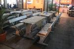 луксозна маса с пейки